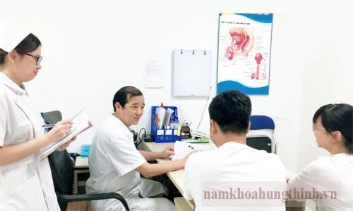 Chi phí khám nam khoa Hưng Thịnh
