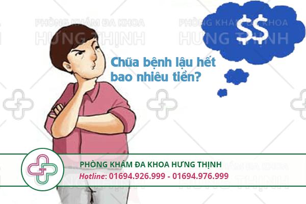 Mức chi phí chữa bệnh lậu hết bao nhiêu tiền?