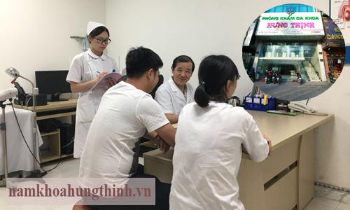 Khám và chữa bệnh giang mai tại Phòng khám Hưng Thịnh
