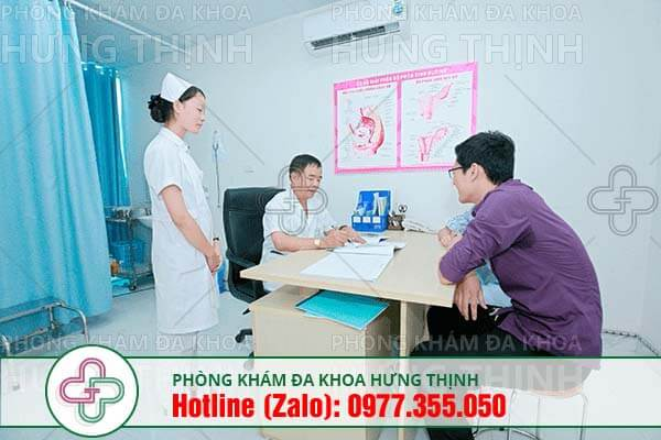 đi tiểu ra máu có thể khám tại phòng khám Hưng Thịnh