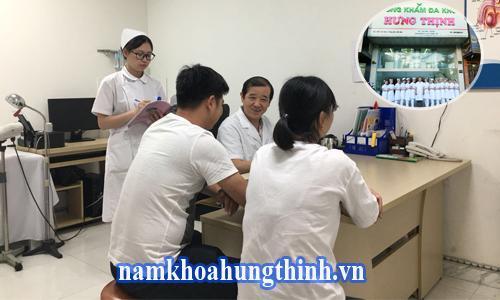 chữa rối loạn cương dương tại phòng khám hưng thịnh