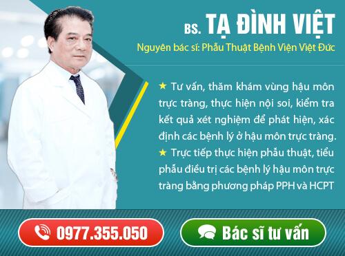 Bác sĩ Tạ Đình Việt